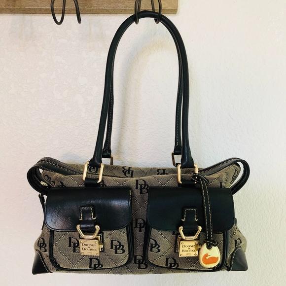 Dooney & Bourke Handbags - Dooney & Bourke Anniversary Double Pocket Tote